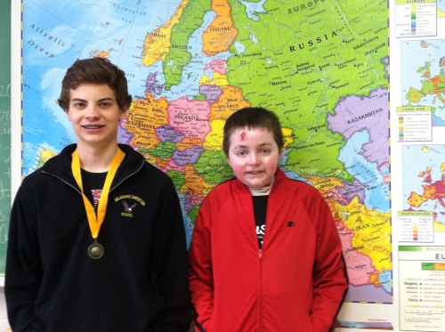 Boytar wins DCS Geography Bee