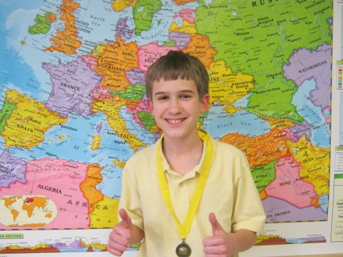 Stechshulte wins Geography Bee