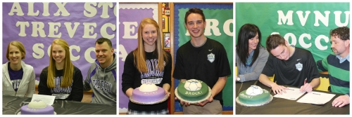 Pair of Delaware Christian Athletes Sign College Scholarships