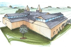 DCS Alum Designs College Equine Therapy Center